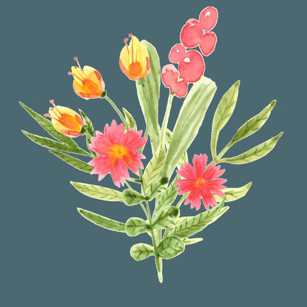 9. Il bouquet